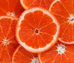 Preview wallpaper orange, citrus, ripe, fruit