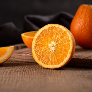 Preview wallpaper orange, fruit, citrus, slices