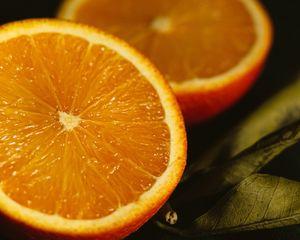 Preview wallpaper orange, fruit, citrus, juicy, ripe