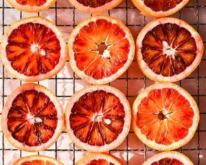 Preview wallpaper orange, fruit, citrus, mesh
