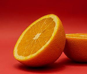 Preview wallpaper orange, fruit, slices, citrus