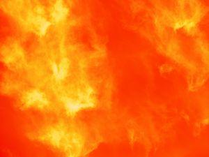 Preview wallpaper orange, gradient, smoke