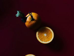 Preview wallpaper orange, slices, citrus, fruit