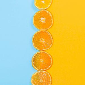 Preview wallpaper orange, slices, fruit, citrus
