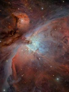 Preview wallpaper orion nebula, shine, stars, space