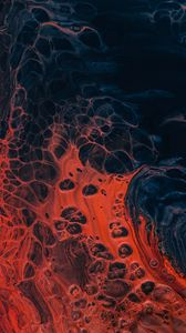 Preview wallpaper paint, liquid, stains, dark, bubbles
