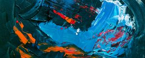 Preview wallpaper paint, canvas, stains, dark