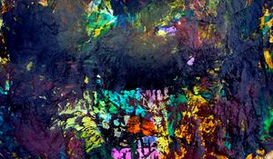 Preview wallpaper paint, strokes, spots, mixing, abstraction, colorful