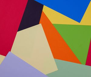 Preview wallpaper paper, colorful, abstraction