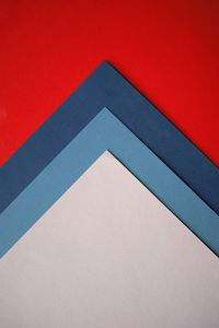 Preview wallpaper paper, colorful, triangles, sheets, layering