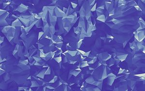 Preview wallpaper paper, folds, triangles, geometric
