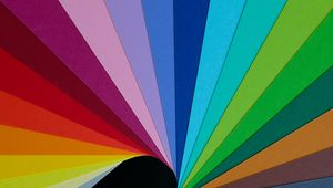 Preview wallpaper paper, rainbow, colorful