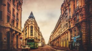 Preview wallpaper paris, france, building, sky, street