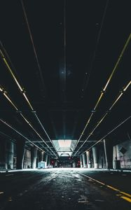 Preview wallpaper parking, underground, building