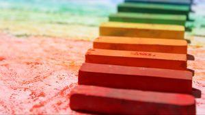 Preview wallpaper pastel, color, pencils, chalk