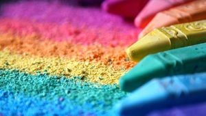 Preview wallpaper pastel, colorful, rainbow