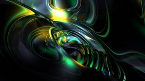 Preview wallpaper pattern, abstract, dark, alloy