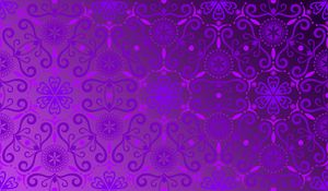 Preview wallpaper pattern, abstraction, gradient, purple