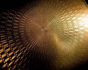 Preview wallpaper pattern, circles, surface, gold, texture
