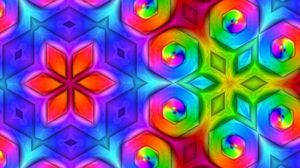 Preview wallpaper pattern, colorful, ornament, bright, saturated