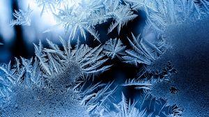 Preview wallpaper pattern, frosty, frost, glass