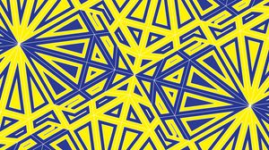 Preview wallpaper pattern, geometry, lines, tangled, yellow