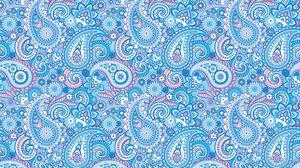 Preview wallpaper pattern, patterns, texture, blue, pink