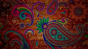 Preview wallpaper pattern, texture, background, colorful