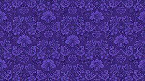Preview wallpaper patterns, fabric, purple, ornament