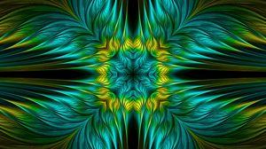 Preview wallpaper patterns, fractal, green