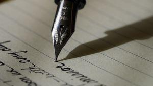 Preview wallpaper pen, ink, paper, shadow