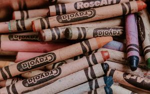 Preview wallpaper pencils, colorful, pastel, drawing, hobby