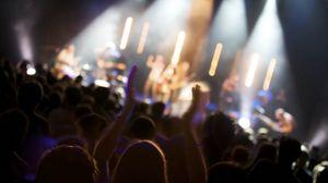 Preview wallpaper people, concert, crowd