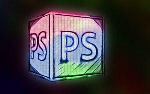 Preview wallpaper photoshop, pc, multicolored