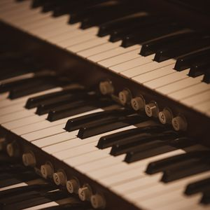 Preview wallpaper piano, keys, music, musical instrument