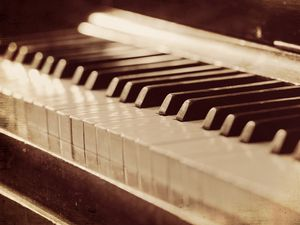 Preview wallpaper piano, music, background, style