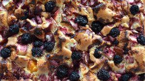 Preview wallpaper pie, blackberry, baking, sweet