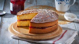 Preview wallpaper pie, dessert, baking, jam, biscuit