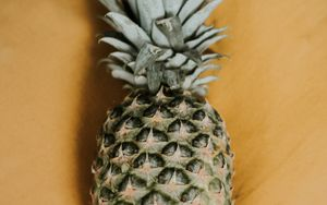 Preview wallpaper pineapple, fruit, exotic, leaves