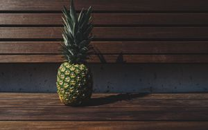 Preview wallpaper pineapple, fruit, shade