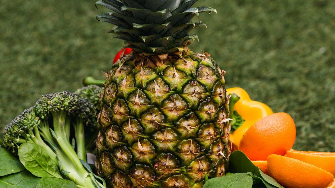 Wallpaper pineapple, fruits, vegetables, fresh