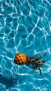 Preview wallpaper pineapple, tropics, water, pool