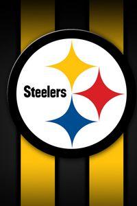 Preview wallpaper pittsburgh steelers, american football, logo