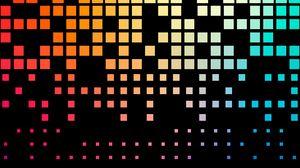 Preview wallpaper pixels, texture, squares, gradient