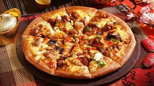 Preview wallpaper pizza, pastry, appetizing