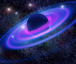 Preview wallpaper planet, galaxy, universe, stars