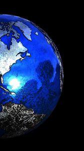 Preview wallpaper planet, sphere, globe, 3d