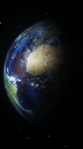 Preview wallpaper planet, surface, atmosphere, space