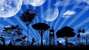 Preview wallpaper planet, world, imagination, fantasy