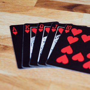 Preview wallpaper playing cards, cards, game, black